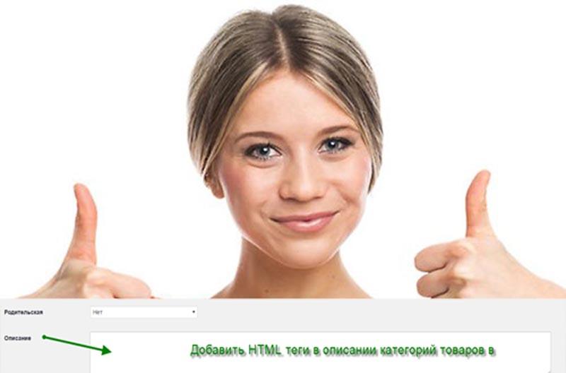 Добавить HTML теги в описании категорий товаров в WooCommerce