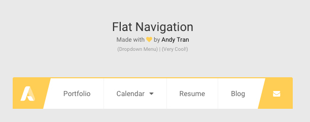 Flat Navigation