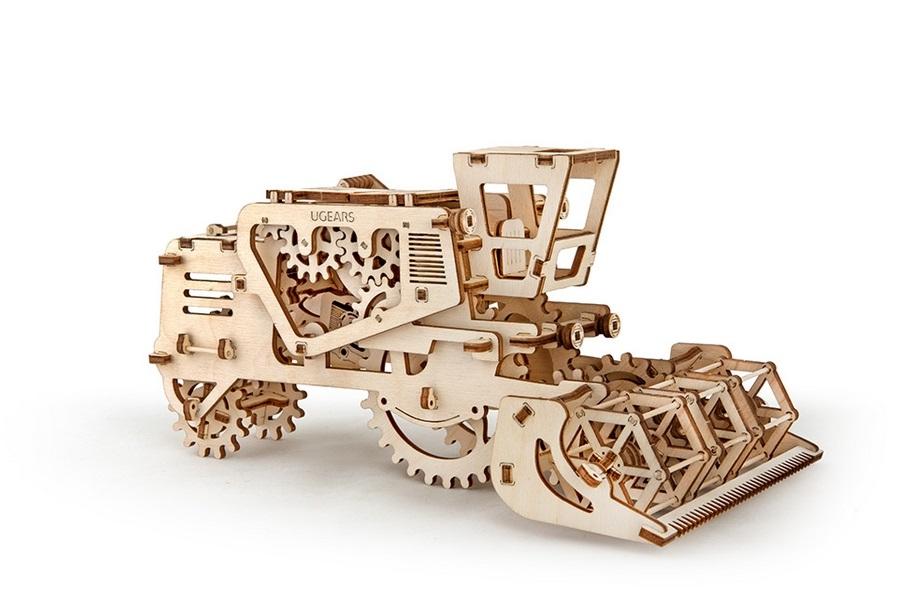 Украинские механические 3D-паззлы из дерева