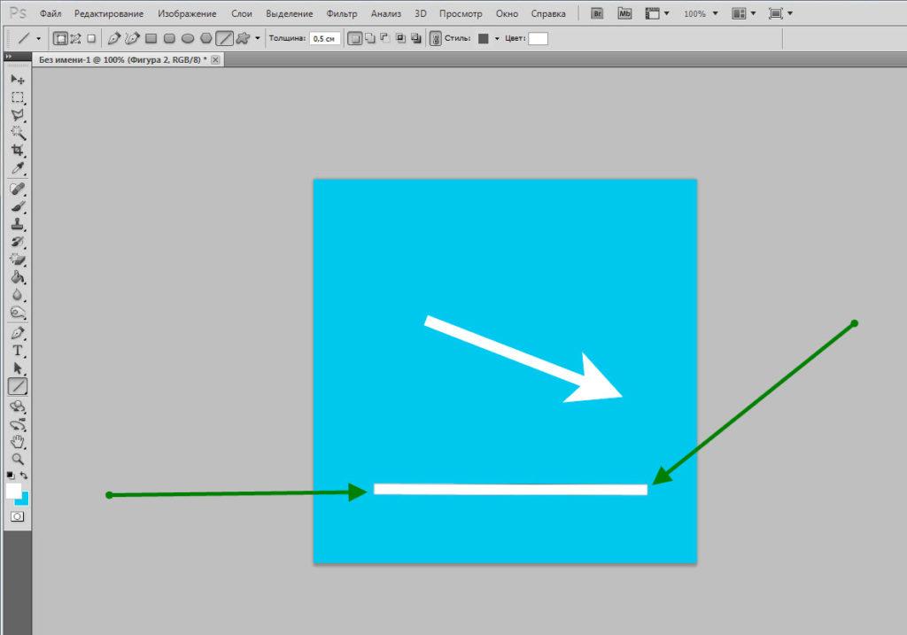 Сняв флажки с данных пунктов, вы получите при рисовании обычную линию.