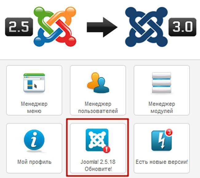Как обновить Joomla 2.5 до версии 3.x