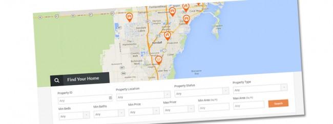 Сайт поиска недвижимости