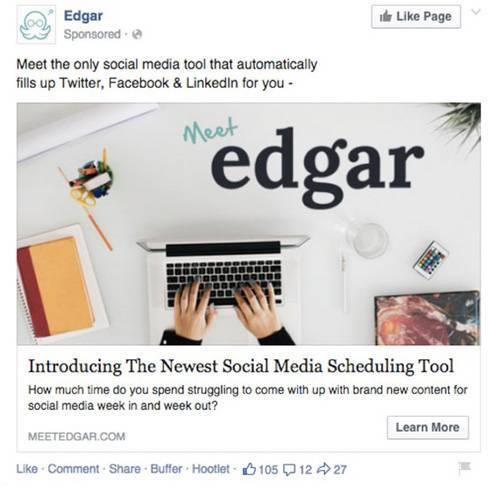 7. Хороший текст и интересное предложение спасают объявление Edgar