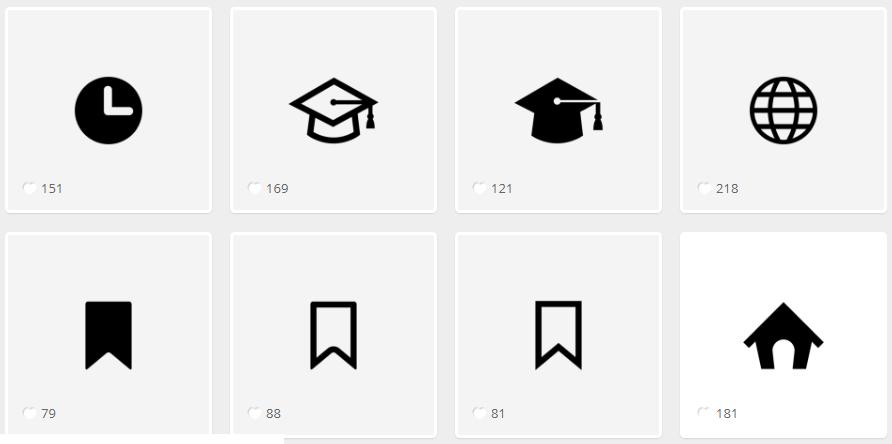 Так выглядят иконки на endlessicons