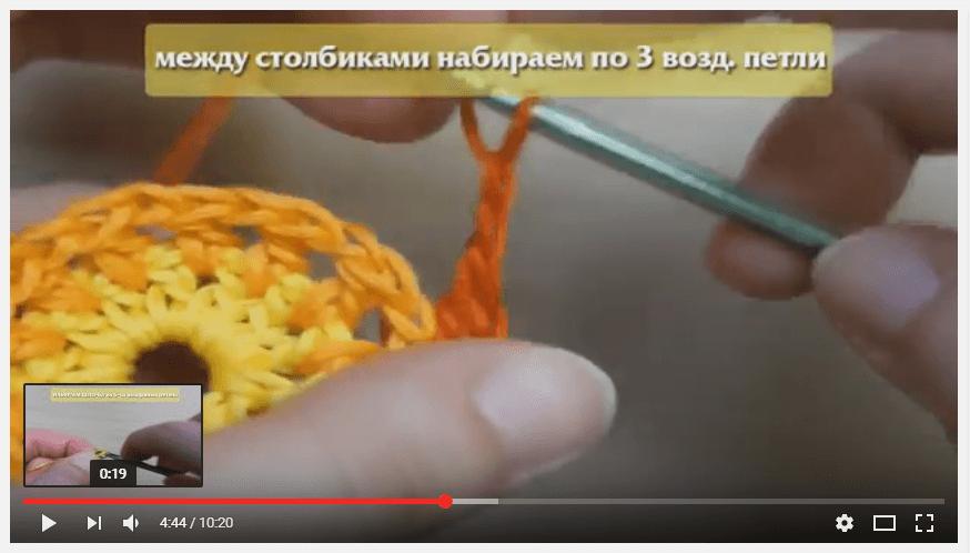 Пример видео с фоновой музыкой