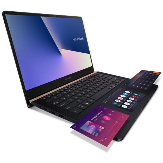 ZenBook Pro 14 — производительный портативный ноутбук с панелью ScreenPad