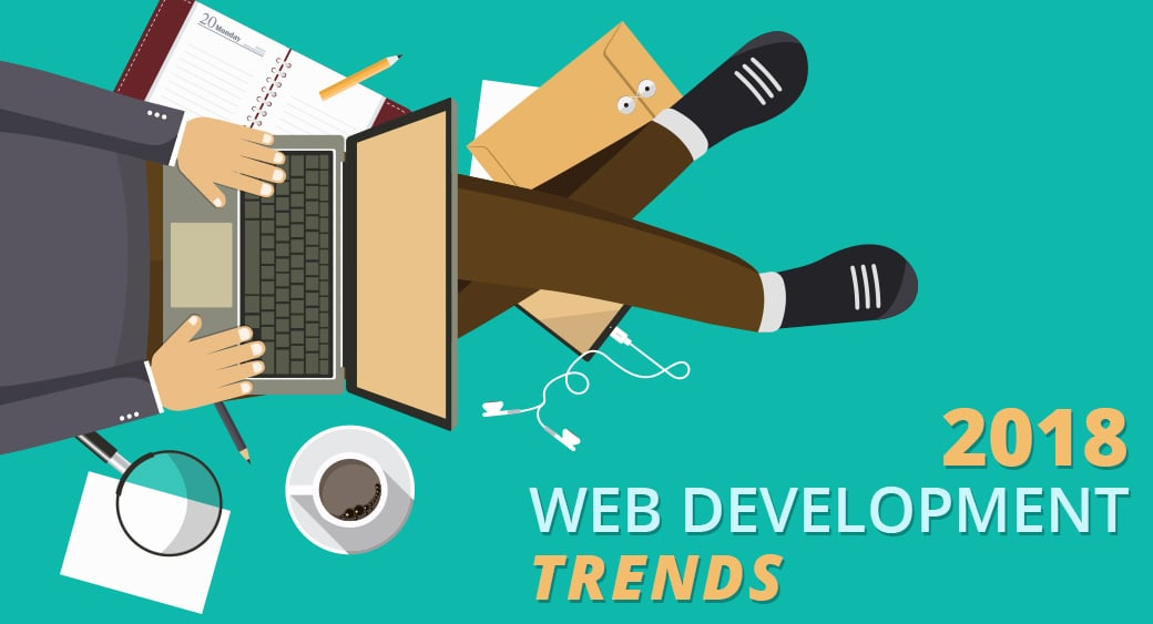 Важные тренды в разработке сайтов 2018 года