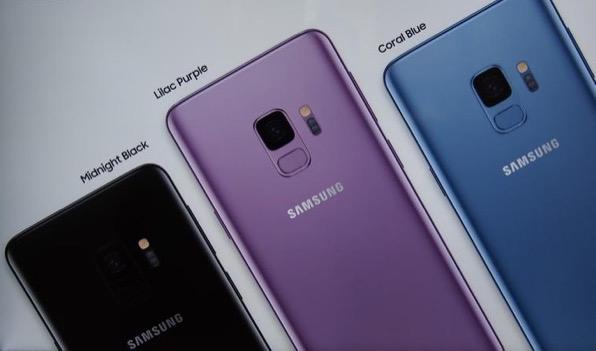 Новые 4 цвета Galaxy S9
