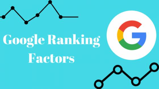 исследование факторов ранжирования Google