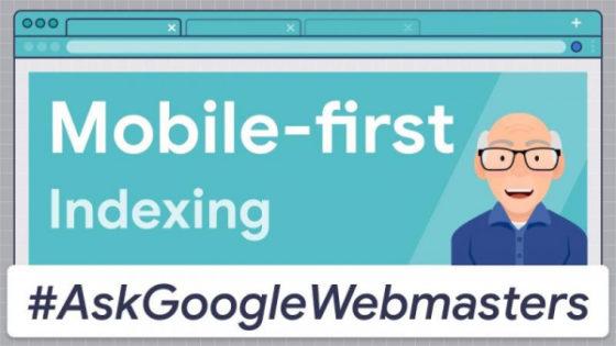 Темой нового видео в серии #AskGoogleWebmasters стала mobile-first индексация