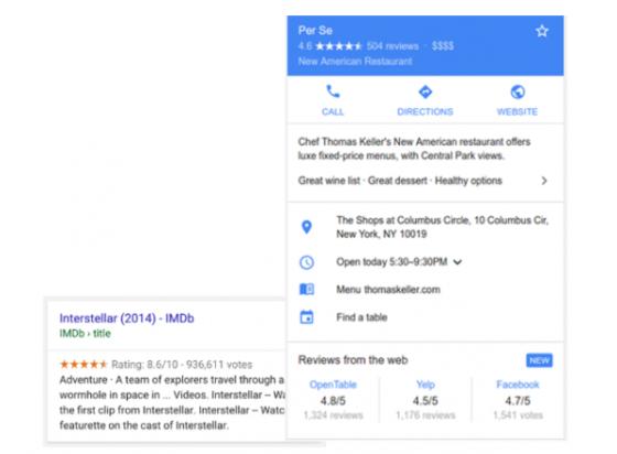 В Search Console появились отчёты по отзывам