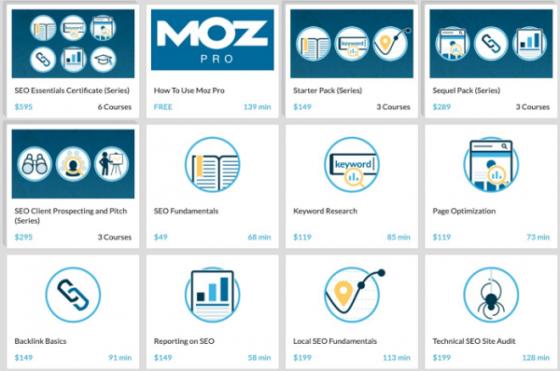 Moz открыл бесплатный доступ к своим премиум-курсам по SEO