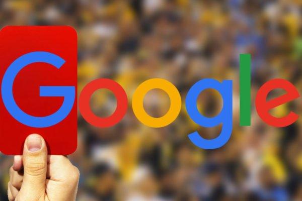 Google отклоняет повторные запросы на пересмотр сайта