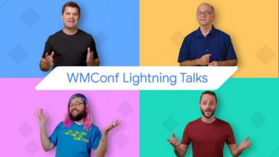 Webmaster Conference Lighting Talks