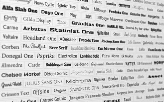 Google: выбор шрифта для сайта не имеет значения для SEO