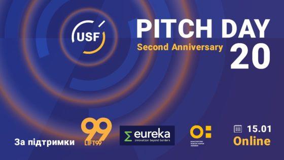 Украинский фонд стартапов объявил победителей 20-го Pitch Day