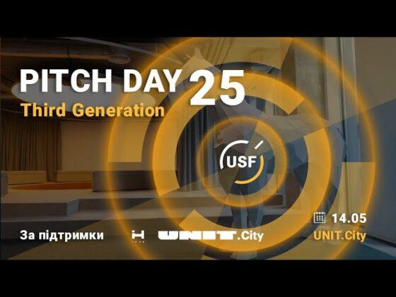 Украинский фонд стартапов объявил победителей 25-го Pitch Day