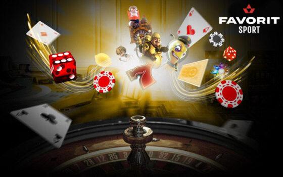 Онлайн-казино и букмекерская контора Фаворит (Украина)