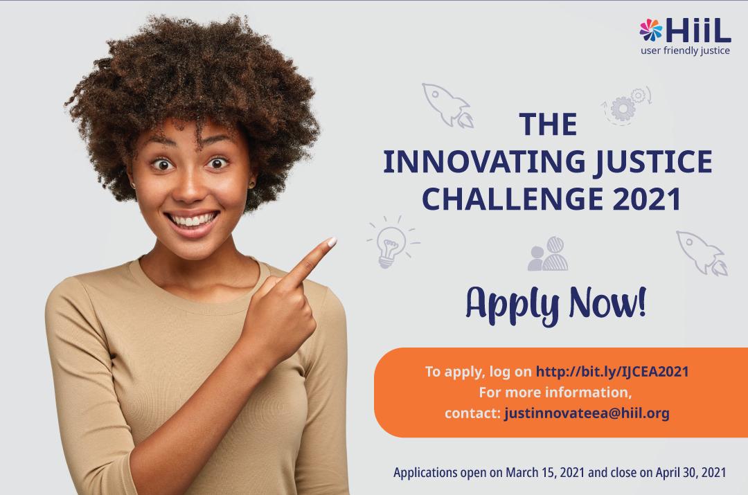 Стали известны победители конкурса Innovating Justice Challenge 2021, которые получили гранты в 10 000 евро