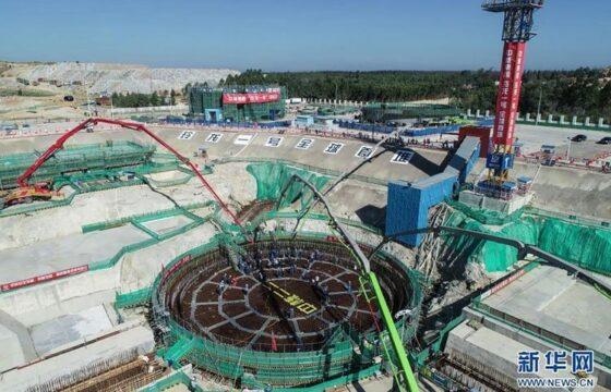 В Китае начали строить первый в мире наземный малый модульный атомный реактор