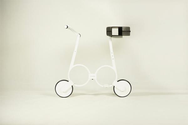 Электровелосипед, который поместится в рюкзак